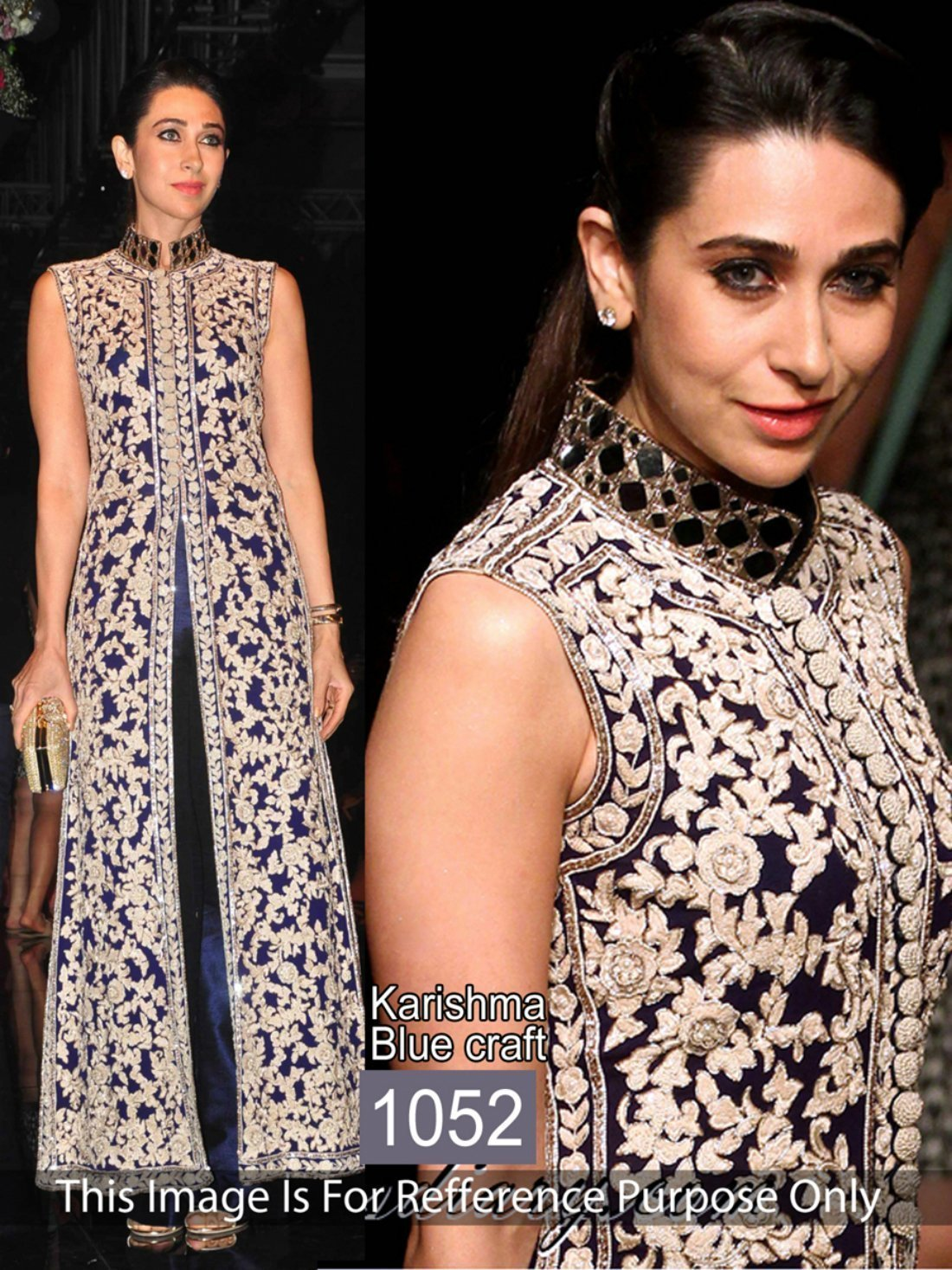 Karishma Kapoor Embroidery Bollywood Suit