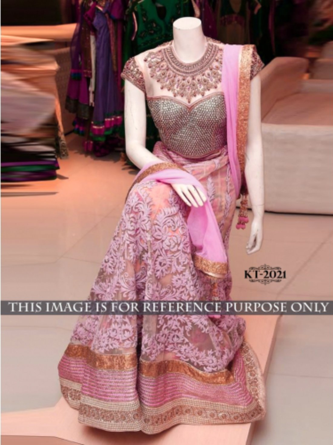 Beautiful Designer Wear Lehenga- Indiana Lifestyle Online Shopping
