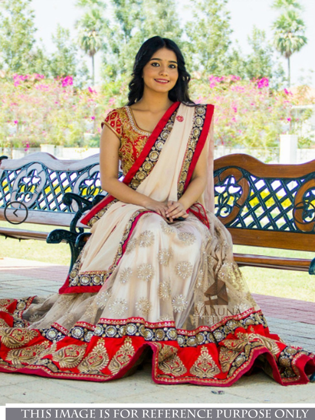 Designer Wear Nylon Net with Georgette Lehenga Choli- Indiana Lifestyle Online Shopping