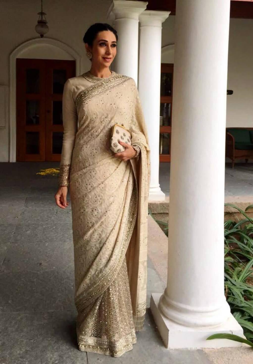 Being Georgette Karishma Kapoor Saree- Indiana Lifestyle Online Shopping