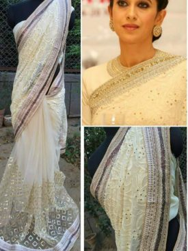 Being Georgette Karishma Kapoor Saree- Indiana Lifestyle Online Shopping