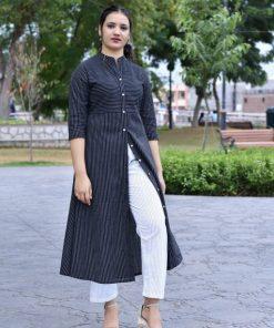 Beautiful Designer Lining Reyon Kurti