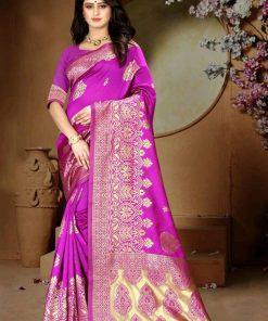 Adrika Banarasi Art Silk Women's Sarees