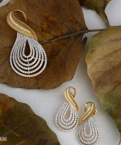 Beautiful Diamond Pendent Set