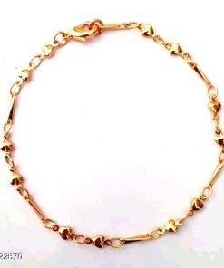 Golden Plat Ladies Bracelet