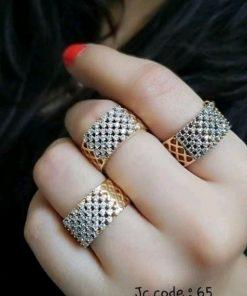 Set of 3 Diamond Rings