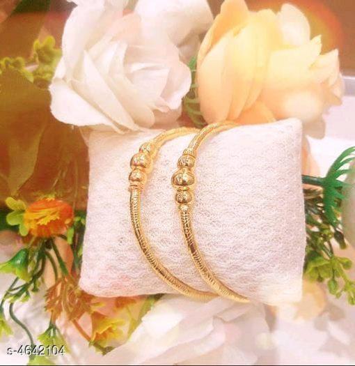 Beautiful Gold Plat Bangles