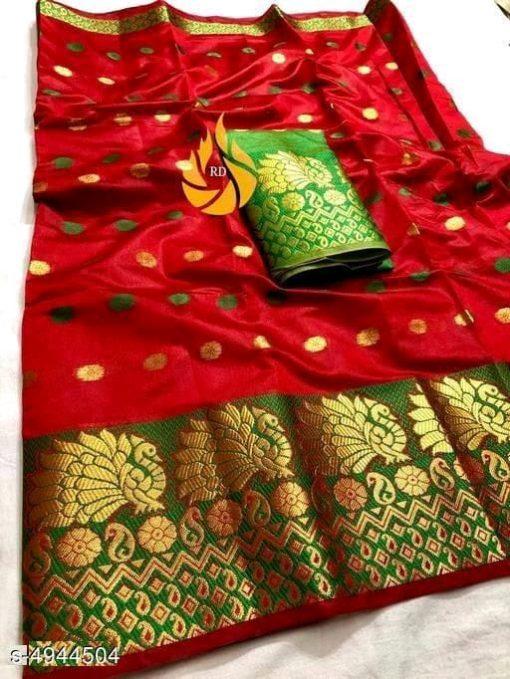 Myra Graceful Silk Saree