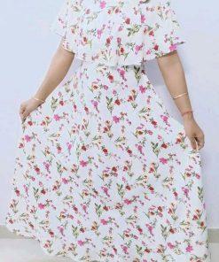Adelyn Stylish American Crepe Print Dresses