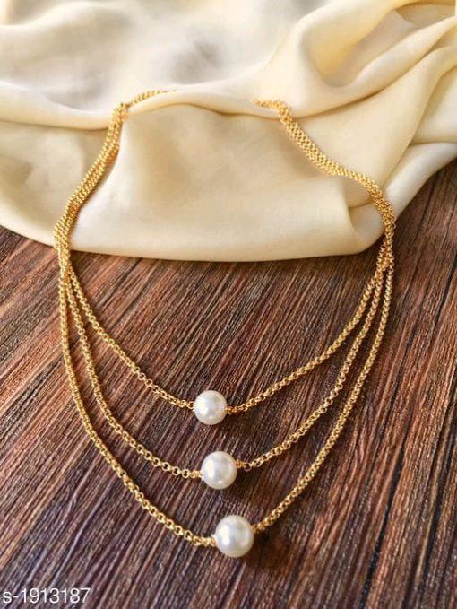 Elite Trendy Alloy Necklace Chains