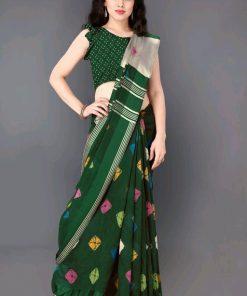 Adrika Pretty Print Sarees