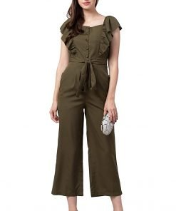 Indiana Lifestyle Women's Knee Length Jumpsuit