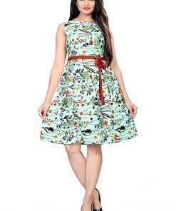 Beautiful Western Turquoise Top Dress