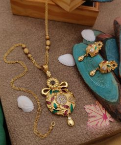 Exclusive traditional gold plat jewellery