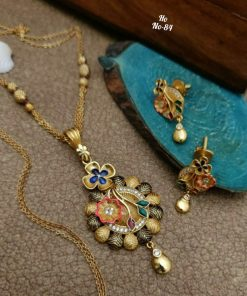 Traditional Enameling & Gold Plat Jewellery