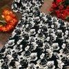 Crepe Maxi black Color Long Dress