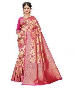 Fabulous women's banarasi silk saree
