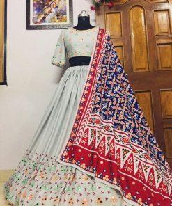 Embroidery Fabulous Women Lehenga