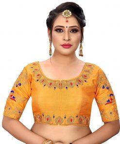 Ethnic Malbari Silk Women's Blouses