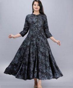 Adrika Fashionable Anarkali Kurtis